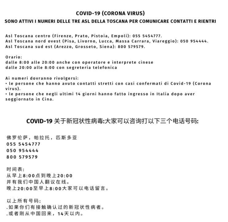 Coronavirus Tutte Le Informazioni E Gli Aggiornamenti Sul Covid 19 Bagno A Ripoli