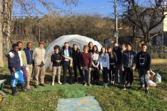 Inaugurata alla scuola Redi la serra dell'Orto e Semenzaio