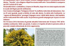 8 marzo in ricordo di Teresa Mattei