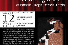 """Teatro Crc Antella, il 12 maggio va in scena """"Antigone"""" di Sofocle"""