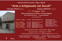 Arte e Artigianato nei Secoli all'Oratorio di Santa Caterina