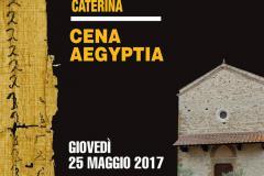 """Giovedì 25 maggio all'Oratorio di Ponte a Ema """"Una cena d'Egitto"""""""