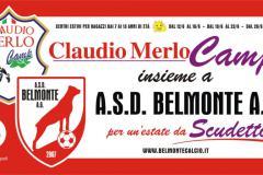 Claudio Merlo Camp per un'estate da scudetto