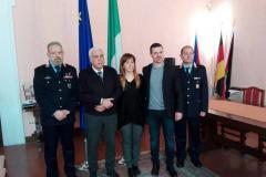 Sindaci e comandanti firmano la convenzione per il coordinamento fra i Comuni