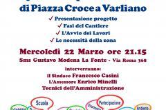 Dire – Fare – Condividere a Croce a Varliano, incontro pubblico mercoledì 22 marzo, ore 21.15