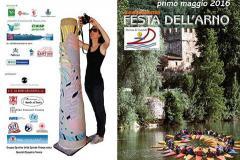 1° maggio 2016, 16a Festa dell'Arno: Sport, arte, natura a Marina di Candeli