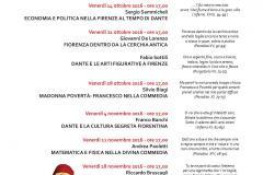 Miti nella città. Firenze e Dante (24 ottobre-18 novembre 2016)