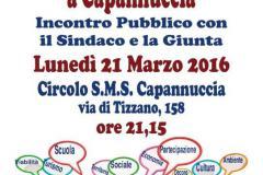 Dire – Fare – Condividere a Capannuccia