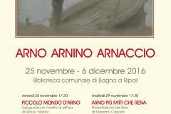 Mostra di pittura e tre presentazioni di libri dal 25 novembre al 6 dicembre 2016
