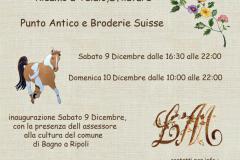 Mostra del ricamo a Balatro: 9 e 10 dicembre