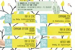 Il Circolo Ricreativo Culturale Antella, le cui Iniziative cinematografiche e teatrali sono patrocinate dal Comune di Bagno a Ripoli, presenta il programma della XXVIII Stagione dei Pupi di Stac