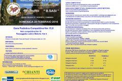 40° Trofeo B. Sasi – Domenica 28 febbraio 2016