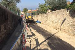 Via Roma riapre oggi al traffico con un giorno di anticipo, da lunedì senso unico alternato