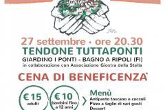 Onlus Santa Maria Annunziata, cena di fundraising per acquistare un ecografo portatile e realizzare progetti di educazione alimentare nelle scuole