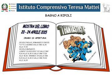 I Fantastici 4 dell\'Istituto Comprensivo Teresa Mattei: Mostra del ...