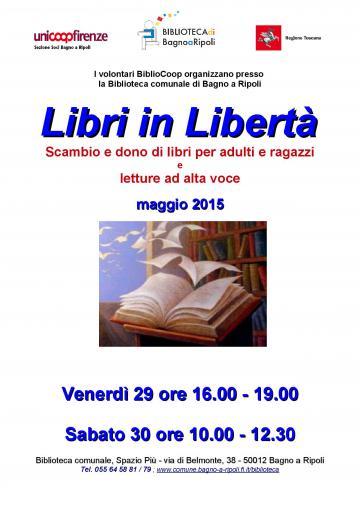Libri in libert scambio e dono di libri per adulti e - Bagno a ripoli comune ...