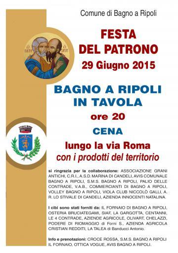 Estate Ripolese e Festa del Patrono a Bagno a Ripoli