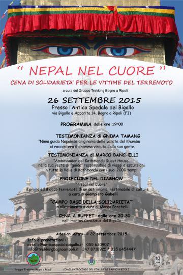 Nepal nel cuore – Il 26 settembre all\'Antico Spedale del Bigallo ...