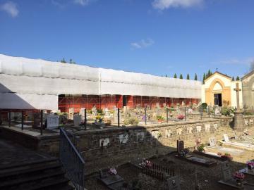 Cimiteri di San Martino e di Santa Maria a Quarto: partiti i lavori.