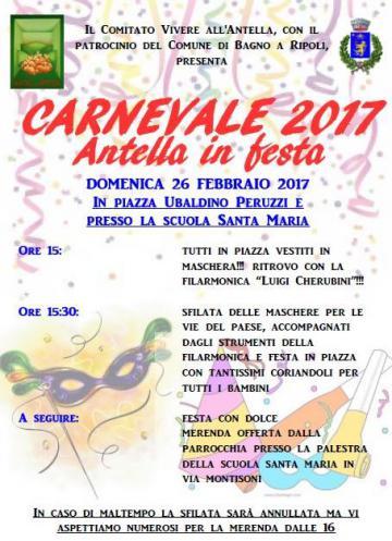 Carnevale 2017 gli eventi patrocinati dal comune bagno - Bagno a ripoli comune ...