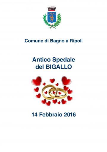 San valentino 2016 il sindaco invita le coppie che nel for Bagno a ripoli matrimonio
