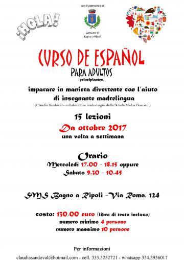 Corso di spagnolo per adulti | Bagno a Ripoli