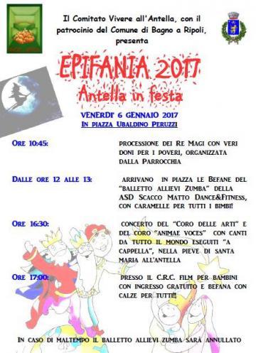 Epifania 2017 antella in festa bagno a ripoli - Comune di bagno a ripoli ...