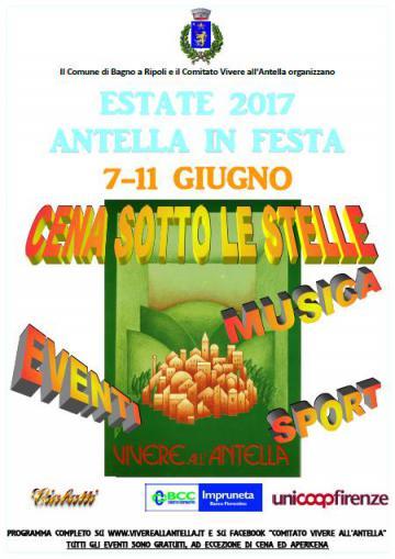 Antella in festa dal 7 all\'11 giugno | Bagno a Ripoli