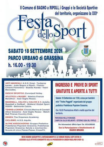 Festa dello Sport 2021