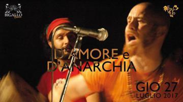 Bigallo Estate, EtnoGallo: il 27 luglio Folk Lucano: D'amore e d'anarchia