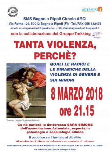 L\'8 Marzo al Circolo Sms Bagno a Ripoli: Tanta violenza, perché ...