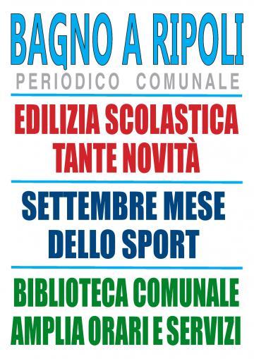 Il Notiziario di Bagno a Ripoli sul sito internet del Comune | Bagno ...