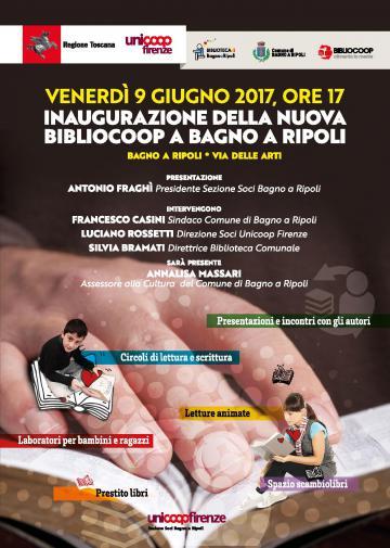Nuova Bibliocoop a Bagno a Ripoli