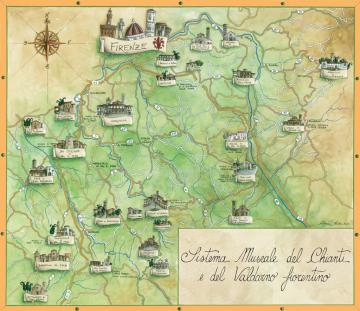 Bagno a ripoli per le 39 notti dell 39 archeologia 39 sentieri for Bagno a ripoli mappa