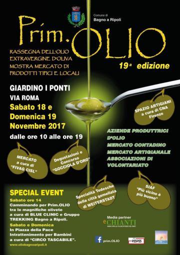 L'oro verde in festa: il 18 e il 19 novembre a Bagno a Ripoli torna Prim.Olio