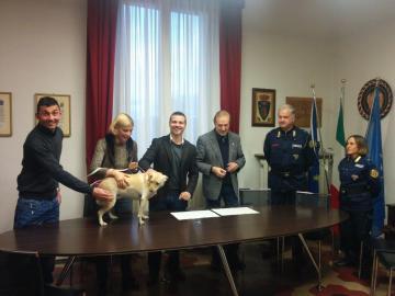 La firma del Protocollo con Ente Nazionale Protezione Animali