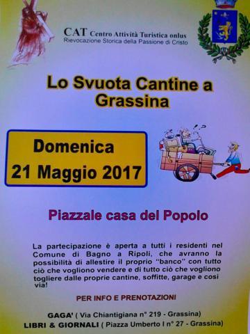 Lo Svuota Cantine a Grassina, domenica 21 maggio