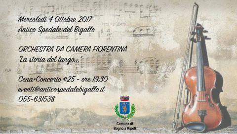 La storia del tango al bigallo con l 39 orchestra da camera for Bagno a ripoli matrimonio