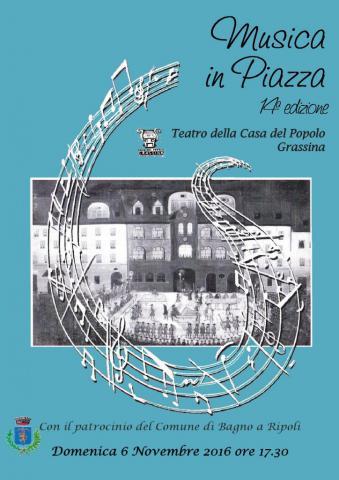 Musica in piazza 2016 bagno a ripoli - Bagno a ripoli comune ...