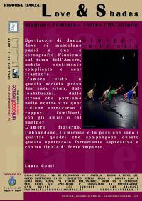 Giovedì 16 febbraio 2017, Risorse Danza: Love & Shades