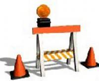 Chiusura strade per lavori