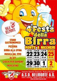 4a Festa della Birra, 22 giugno – 2 luglio