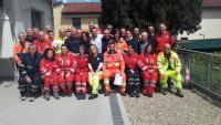 Gruppo corso base volontari P.C. - aprile 2016