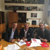 La firma del Protocollo con la Fondazione Angeli del Bello