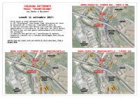"""Terza corsia, da lunedì chiuso il sottoponte sulla Sr 222 """"Chiantigiana"""" e traffico deviato sulla bretella di via Aldo Moro"""