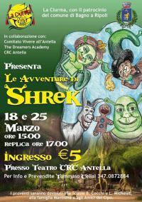 Le avventure di Shrek al Teatro Crc Antella il 18 e il 25 marzo