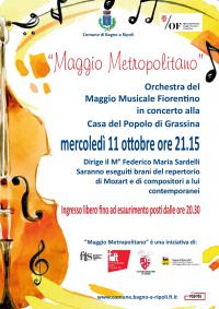 L'Orchestra del Maggio va in scena alla Casa della popolo: a Bagno a Ripoli la grande musica approda nello storico circolo di Grassina