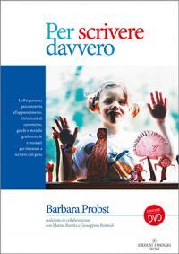 La copertina del libro 'Per scrivere davvero'
