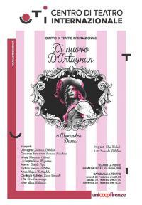 """""""Di nuovo D'Artagnan"""" venerdì 24, sabato 25, domenica 26 febbraio 2017"""