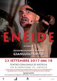 L'Eneide di Virgilio nell'interpretazione di Gianluigi Tosto al Teatro di Antella